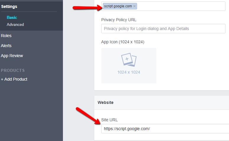 Facebook App Basic_Settings_