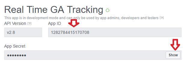 App ID & App Secret - Facebook Apps