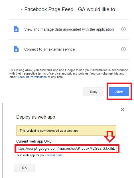 Facebook Web app - Authorization Process