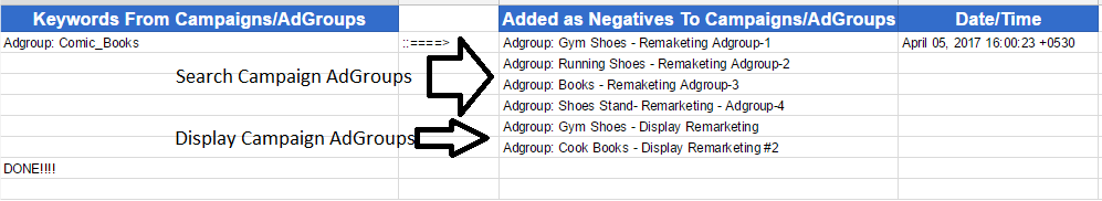 Adwords-Cross-Matching-Keywords-scenario-3-Adgroups-to-Campaigns-OutPut-Preview