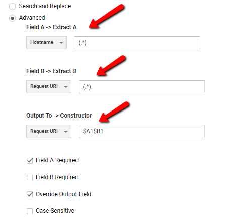 Hostname_PagePath_Google Analytics - Digishuffle