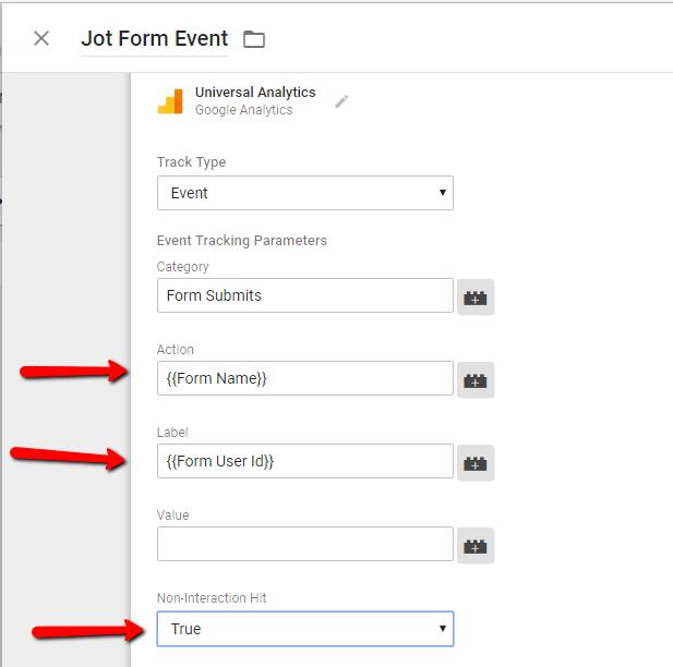 Aanlytics_Event_Configuration - Jot Form Tracking GA