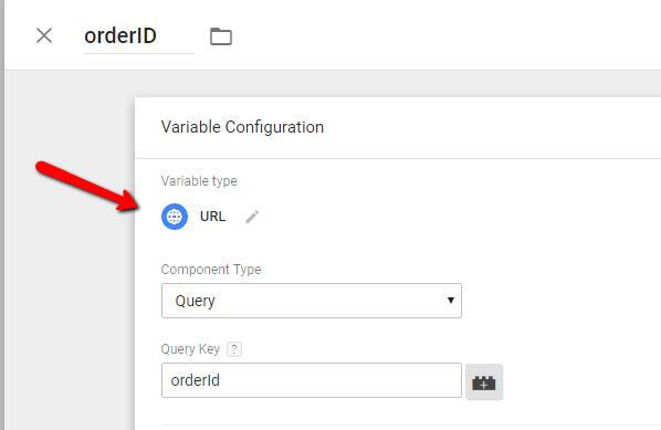Infusionsoft ecommerce tracking - Order ID