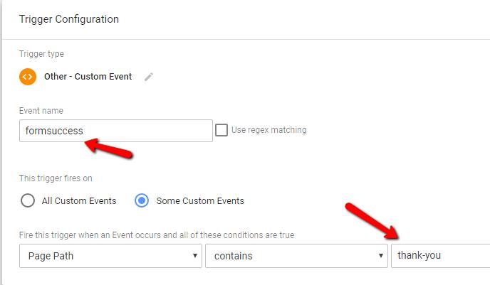 Analytics Event Trigger - GTM