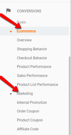 Enhanced_Ecommerce_Reports in Google Analytics