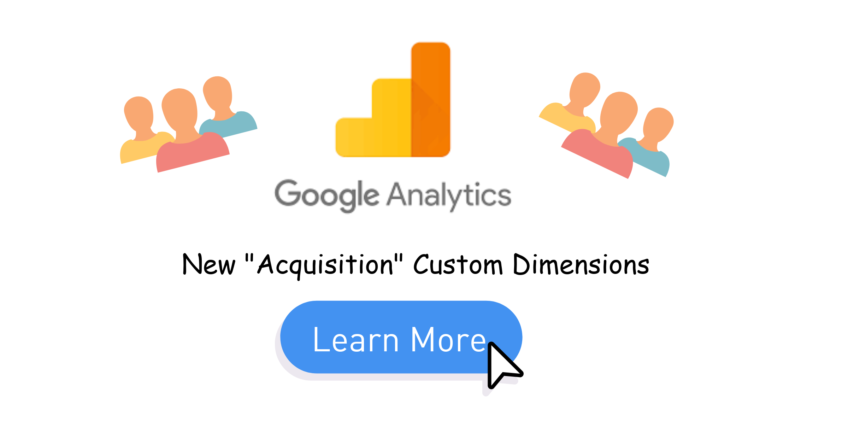 """Learn To Track """"Acquisition"""" Custom Dimension in Google Analytics - GTM"""